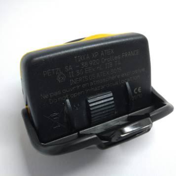 Exemplo de marcação num equipamento certificado ATEX.